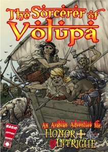 The Sorcerer of Volupa cover