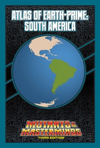 Atlas of Earth-Prime: South America
