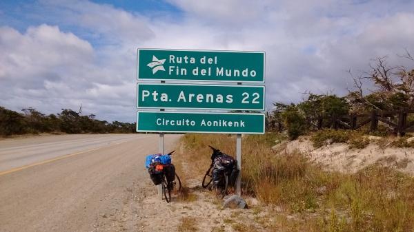 P'roximos a Punta Arenas