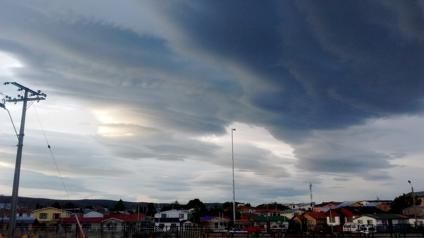As nuvens de Punta Arenas
