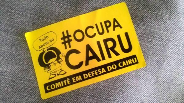 #ocupacairu