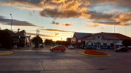 Por do sol em Rio Grande