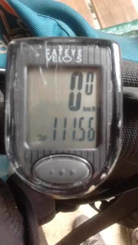 111,56 km em um dia