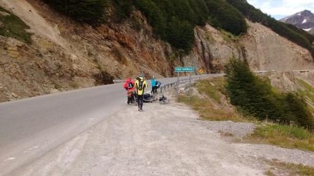 Chegando no passo Garibaldi