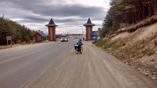 O portal de Ushuaia