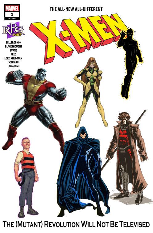 Capa do jogo dos X-Men
